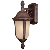 Ardmore 1 Light 18 inch Vintage Rust Outdoor Wall Mount