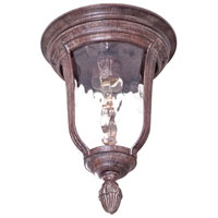 The Great Outdoors by Minka Ardmore 1 Light Flushmount in Vintage Rust 8999-61
