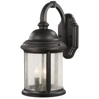 Minka-Lavery 9011-66 Hancock 3 Light 18 inch Black Outdoor Wall Mount Lantern photo thumbnail