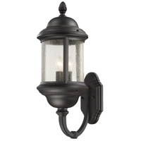 Hancock 3 Light 23 inch Black Outdoor Wall Mount Lantern