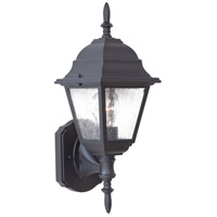 The Great Outdoors by Minka Bay Hill 1 Light Outdoor Wall in Black 9060-66