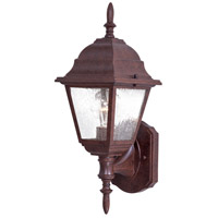 The Great Outdoors by Minka Bay Hill 1 Light Outdoor Wall in Antique Bronze 9060-91