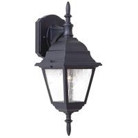 Minka-Lavery 9067-66 Bay Hill 1 Light 17 inch Black Outdoor Wall Mount Lantern