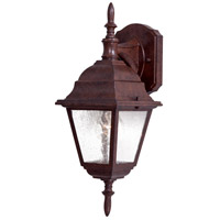The Great Outdoors by Minka Bay Hill 1 Light Outdoor Wall in Antique Bronze 9067-91