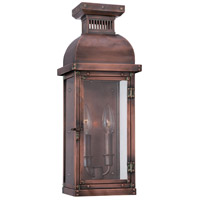 Copperton 2 Light 18 inch Manhattan Copper Outdoor Pocket Lantern