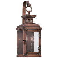 Copperton 2 Light 18 inch Manhattan Copper Outdoor Wall Mount Lantern