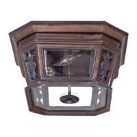 The Great Outdoors by Minka Buckingham 4 Light Flushmount in Prussian Gold 9089-407
