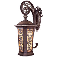 Minka-Lavery Jessica McClintock Outdoor 2 Light Outdoor Wall in Ravello Bronze w/Gold Highlights 9112-198B-PL