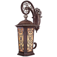 Minka-Lavery Jessica McClintock Outdoor 2 Light Outdoor Wall in Ravello Bronze w/Gold Highlights 9113-198B-PL