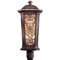 Minka-Lavery Jessica McClintock Outdoor 2 Light Post Light in Ravello Bronze w/Gold Highlights 9116-198B-PL