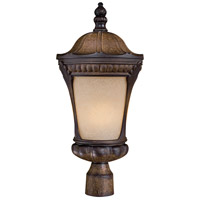 Kent Place 1 Light 22 inch Prussian Gold Post Light in GU24
