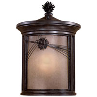 The Great Outdoors by Minka Abbey Lane 1 Light Outdoor Wall in Iron Oxide 9150-357-PL