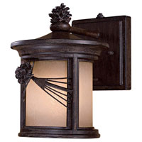 The Great Outdoors by Minka Abbey Lane 1 Light Wall Lamp in Iron Oxide 9151-A357-PL