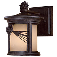 Minka-Lavery 9151-A357-PL Abbey Lane 1 Light 10 inch Iron Oxide Outdoor Wall Mount in GU24