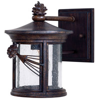 Minka-Lavery 9151-A357 Abbey Lane 1 Light 10 inch Iron Oxide Outdoor Wall Mount Lantern
