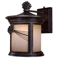 The Great Outdoors by Minka Abbey Lane 1 Light Wall Lamp in Iron Oxide 9153-A357-PL