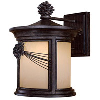 Abbey Lane 1 Light 14 inch Iron Oxide Outdoor Wall Mount