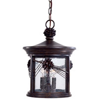 The Great Outdoors by Minka Abbey Lane 3 Light Outdoor Lighting in Iron Oxide 9154-A357