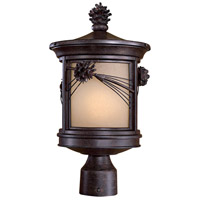 Abbey Lane 1 Light 17 inch Iron Oxide Outdoor Post Mount