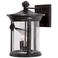 The Great Outdoors by Minka Abbey Lane 4 Light Outdoor Wall in Iron Oxide 9157-357