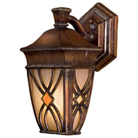 The Great Outdoors by Minka Aston Court 1 Light Outdoor Wall in Aston Patina 9181-184-PL