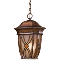 The Great Outdoors by Minka Aston Court 1 Light Hanging in Aston Patina 9184-184-PL