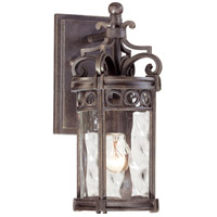 The Great Outdoors by Minka Regal Bay 1 Light Outdoor Wall Lantern in Regal Bay Patina 9221-256