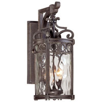 The Great Outdoors by Minka Regal Bay 2 Light Outdoor Wall Lantern in Regal Bay Patina 9222-256