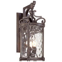 The Great Outdoors by Minka Regal Bay 3 Light Outdoor Wall Lantern in Regal Bay Patina 9223-256