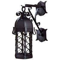 The Great Outdoors by Minka Montalbo 1 Light Outdoor Wall in Black 9242-1-66-PL