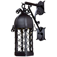 The Great Outdoors by Minka Montalbo 1 Light Outdoor Wall in Black 9243-1-66-PL