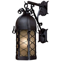 The Great Outdoors by Minka Montalbo 1 Light Outdoor Wall in Black 9243-66-PL