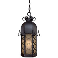 The Great Outdoors by Minka Montalbo 1 Light Hanging in Black 9244-66-PL