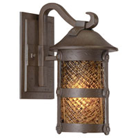 The Great Outdoors by Minka Lander Heights 1 Light Wall Lamp in Forged Iron 9251-A199-PL
