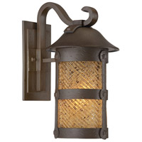 Lander Heights 1 Light 17 inch Forged Bronze Outdoor Wall Mount