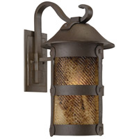 Lander Heights 1 Light 22 inch Forged Bronze Outdoor Wall Mount