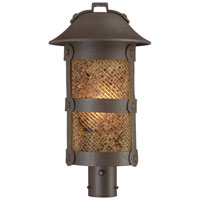 The Great Outdoors by Minka Lander Heights 1 Light Post Light in Forged Iron 9256-A199-PL
