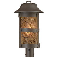 Lander Heights 1 Light 21 inch Forged Bronze Outdoor Post Mount