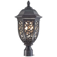 The Great Outdoors by Minka Allendale Park 2 Light Post Mount in Allendale Bronze 9266-262
