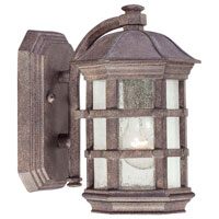 The Great Outdoors by Minka Signature 1 Light Outdoor Wall Lantern in Dark Sienna 9271-277