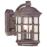 The Great Outdoors by Minka Signature 2 Light Outdoor Wall Lantern in Dark Sienna 9272-277