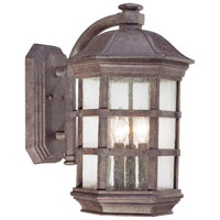 The Great Outdoors by Minka Signature Outdoor Wall Lantern in Dark Sienna 9273-277