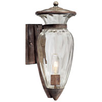 The Great Outdoors by Minka Tuscan Way 1 Light Outdoor Wall Lantern in Iron Oxide 9292-357