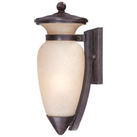 The Great Outdoors by Minka Signature 1 Light Wall Lamp in Iron Oxide 9297-357