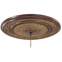 Minka-Lavery 930-126 Belcaro Belcaro Walnut Ceiling Medallion photo thumbnail