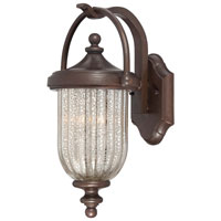 The Great Outdoors by Minka Solara Hills 2 Light Wall Bracket in Architectural Bronze 9301-171