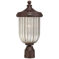 The Great Outdoors by Minka Solara Hills 1 Light Post Light in Architectural Bronze 9306-171