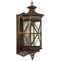 Rue Vieille 1 Light 17 inch Forged Bronze Outdoor Wall Lantern