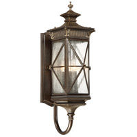 Rue Vieille 5 Light 29 inch Forged Bronze Outdoor Wall Mount Lantern