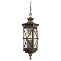 Rue Vieille 4 Light 9 inch Forged Bronze Outdoor Chain Hung Lantern